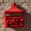 aluminium-wall-post-box-red