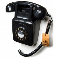 gpo-746-wall-phone-black