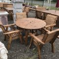 wooden-garden-round-table-4-chairs