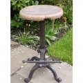 wooden-top-adjustable-stool